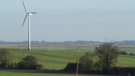 Countryside on the edge of Felixstowe could see major development. Picture: ARCHANT