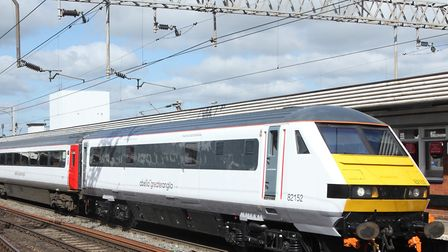 Greater Anglia services are being affected heading to and from Norwich and London. File picture: ARC