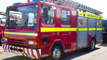 Firefighters from Chelmsford and Great Baddow attended the scene this morning