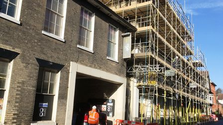Work has started on converting the former nightclub into an easyHotel in Northgate Street in Ipswich