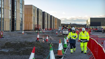The accommodation campus at Hinkley Point C. Picture: FOTOTEK GEOFF AND TORDIS PAGOTTO