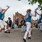 East Suffolk Morris men dancing at the Crows Hall Country Fair in 2010. Picture: CHRISTOPHER GROVER