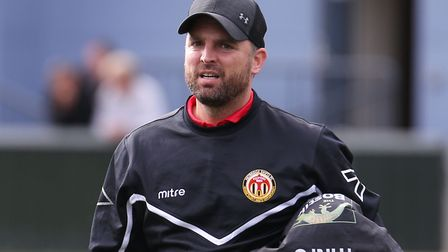 Heybridge Swifts boss, Jody Brown, who admits his side have a mental battle to overcome with their b