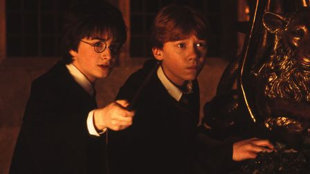 Quality: Original. Film Title: Harry Potter And The Chamber Of Secrets. Pictured: (from left to