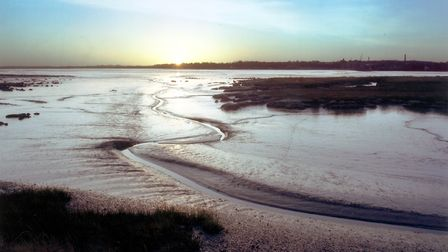 Sunrise over the Stour Estuary - an area covered by the proposed AONB extension. Picture: BARRY FREE