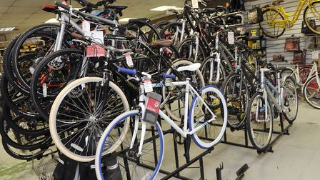 The shop has sold both cycles and motorbikes in its history. Picture: SU ANDERSON