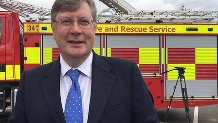 Police and crime commissioner for Essex, Roger Hirst. Picture: ABBIE WEAVING