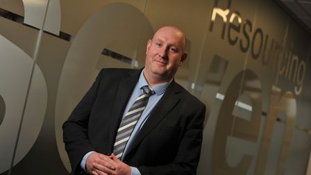 Richard Cooke , founder and managing director of Seven Resourcing. Picture: SARAH LUCY BROWN