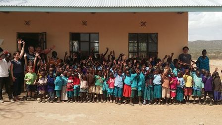 Culford School is fundraising to support education in Tanzania. Picture: CULFORD SCHOOL