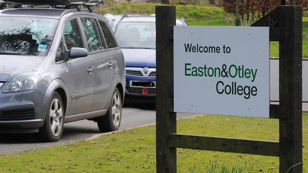 Easton and Otley College. Picture: STEVE ADAMS