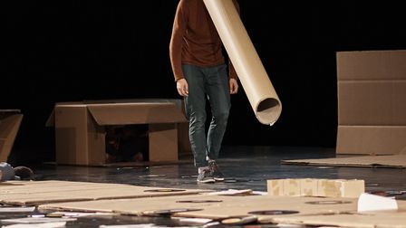 Constructions of Thin Air by Maresa von Stockert, of Tilted Productions, gets its premiere at DanceE