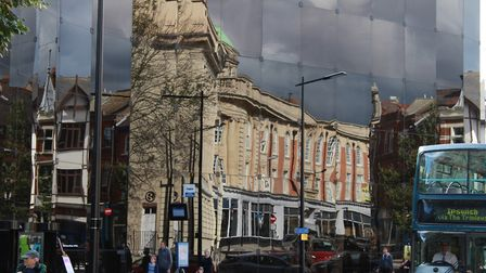 Reflections of Ipswich architecture. Picture: GRAHAM MEADOWS