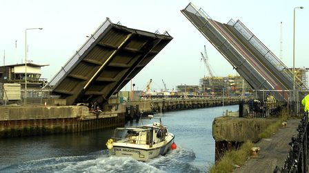 Work will take place to replace the lifting system on the A47 Bascule Bridge. Picture: ARCHANT LIBRA