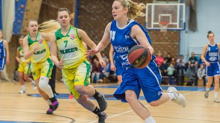 Harriet Welham was the leading scorer for Ipswich again, pouring in 37 against Nottingham and 27 at