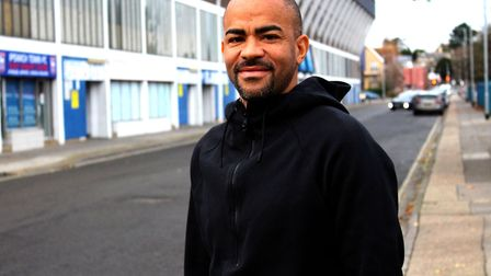 Kieron Dyer would love to manage Ipswich Town one day. Picture: ROSS HALLS