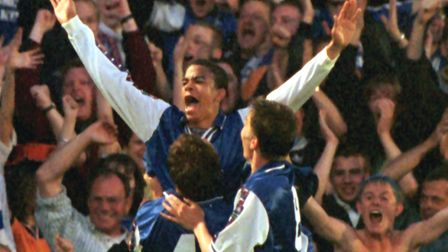 Dyer recalls his time with the Blues fondly. PIC ANDREW PARSONS