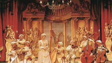 Ensemble the Locrian will be in period costume for Vivaldi By Candlelight at the Mercury Theatre. Pi