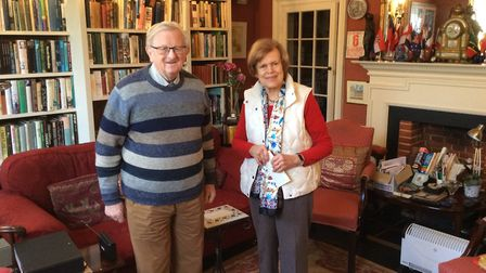 Charles and Sara Michell have been a big part of the Eye community for many years. Picture: Archant