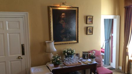 The grand entrance hall at Linden House. Picture: Archant