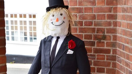 Build your own scarecrow this weekend. Picture: NICK BUTCHER