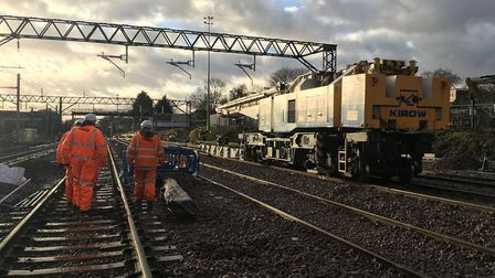 Network Rail is planning more investment in track over the next five years but without the long-ter