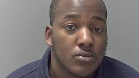 Ayodele Adeleke has been jailed for dealing Class A drugs. Picture: SUFFOLK CONSTABULARY