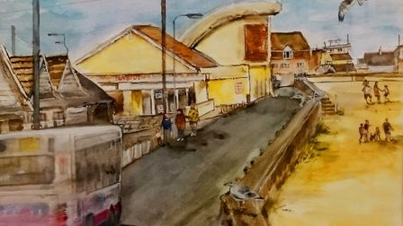 Jaywick Martello Tower is launching its 2018 season with an exhibition of paintings by artist Carol
