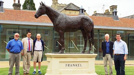 A statue of Frankel has gone on display in the National Heritage Centre for Horseracing & Sporting A
