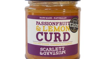 Have you tried the passionfruit lemon curd yet? Picture: SCARLETT AND MUSTARD