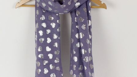 Keep your loved one warm with this gorgeous scarf. Picture: TILLEY AND GRACE.