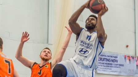 Ryan Wilson beats the defence to get to the rim on his way to 21 points. Picture: PAVEL KRICKA