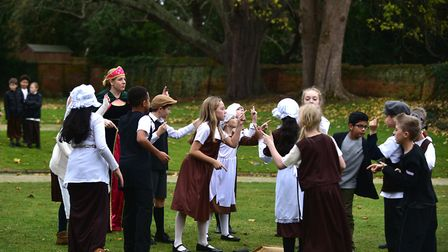 Head to Ipswich Christchurch mansion and learn how to tudor dance. Picture: SARAH LUCY BROWN