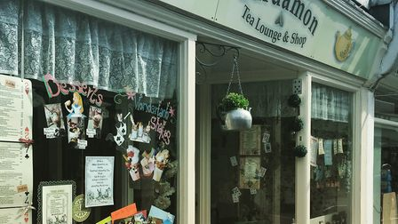 Step inside a magoical world - the Cardoman Tea Lounge in St John's Street, Colchester. Picture: Con