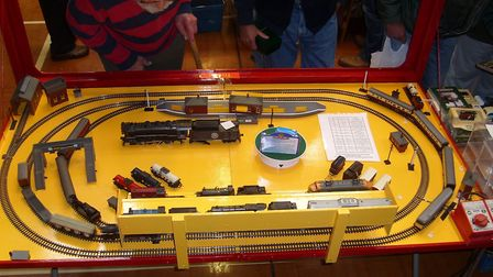 Train enthusiasts can see model railway demonstrations at the fair on March 4. Picture: STOWMARKET R