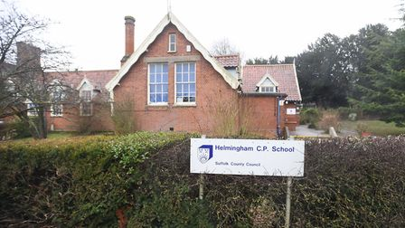 Helmingham Primary School has been rated as 'inadequate' by Ofsted. Picture: GREGG BROWN