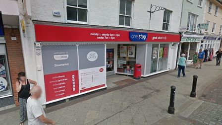 Stowmarket Post Office will be closed for two days while the store formally changes hands. Picture: