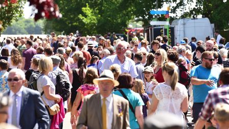 Hot weather brings out a large crowd to the Suffolk Show 2017. Picture: NICK BUTCHER