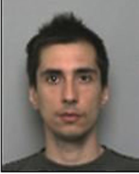 Alexandru Sovu, who has been jailed for 11 years for leading a gang which made skimming devices in a