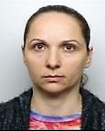Anca Fuioaga, who was sentenced for her involvement in a fraud operation. Picture: BTP