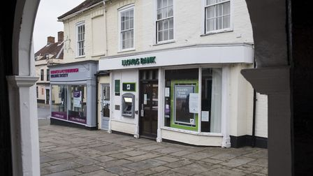 The Bungay branch of Lloyds is under threat. Picture: NICK BUTCHER