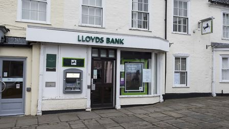 Bungay branch of Lloyds bank. Picture: NICK BUTCHER