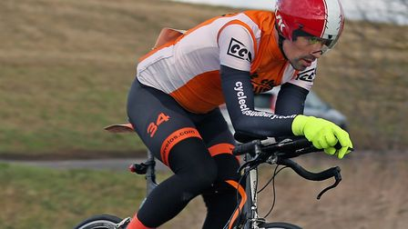 James Rush was the fastest rider from CC Sudbury. Picture: DAVEY JONES