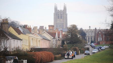"""Long Melford residents fear the village is """"under attack"""" from developers Picture: GREGG BROWN"""