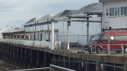 Funding of �4m has been secured to carry out the necessary improvements to Clacton Pier. Picture: TE