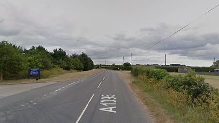 The A1095 in Southwold, where the crash happened. Picture: GOOGLE MAPS