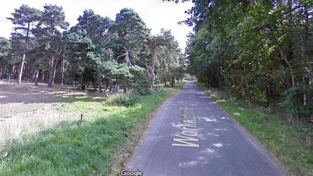 Stock image of Worlington Road in Mildenhall. Picture: GOOGLE MAPS