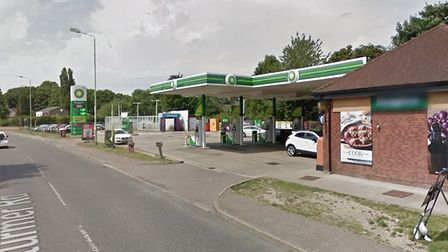 The Haverhill BP where a car and pedestrian were involved in a collision. Picture: GOOGLE MAPS