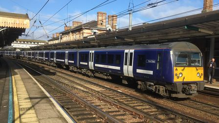 Fare dodgers were caught on the main line from East Anglia to London. File picture: PAUL GEATER