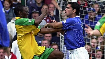 Counago still has vivid memories of the games between Ipswich and Norwich