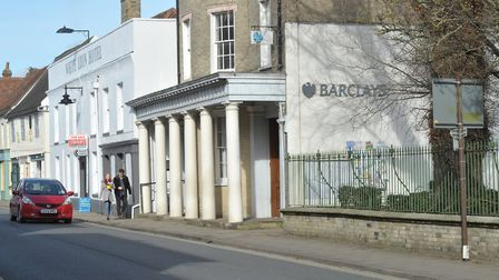 Barclays Bank, Hadleigh. Picture: SARAH LUCY BROWN